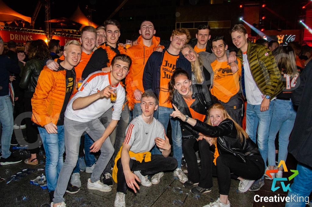 Groepsfoto's Koningsnacht 2019